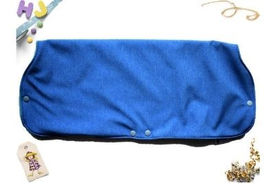 Click to order  Juice Muff Blue Melange Softshell now